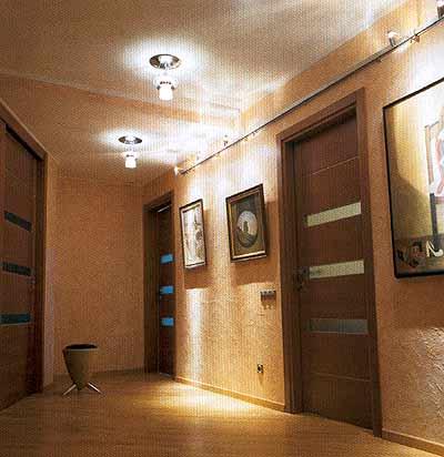 Дизайн света в коридоре